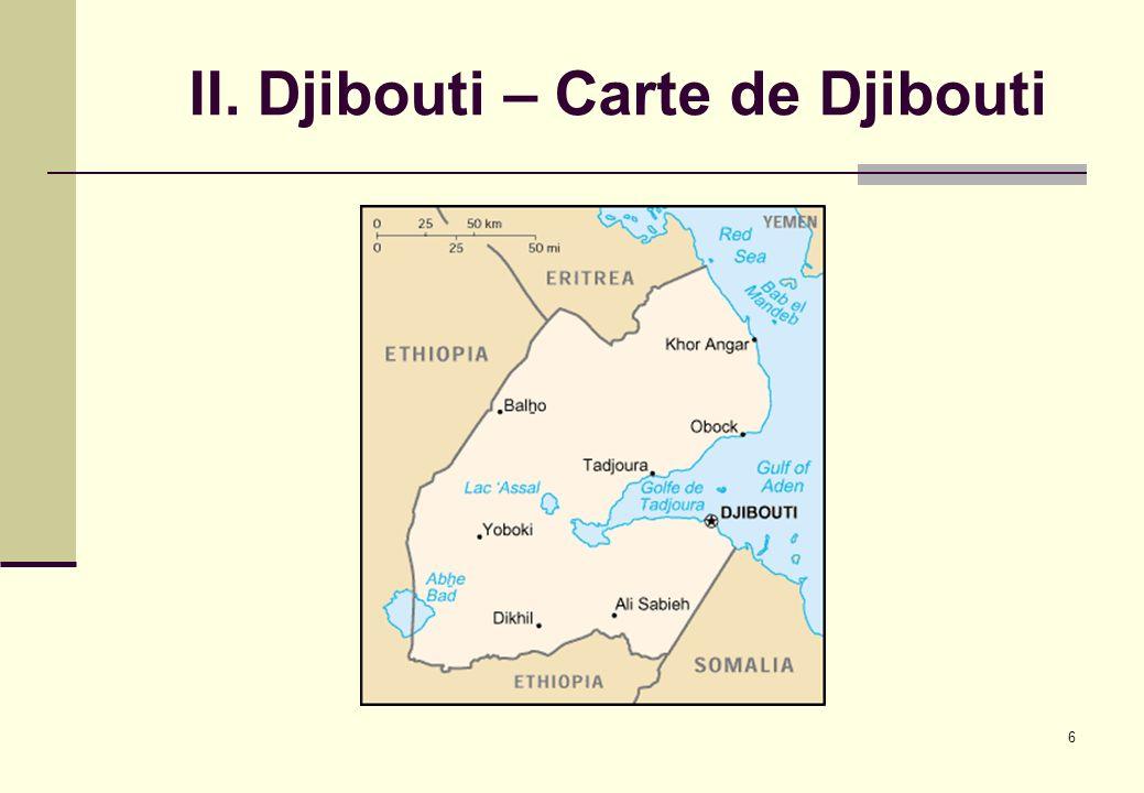 6 II. Djibouti – Carte de Djibouti