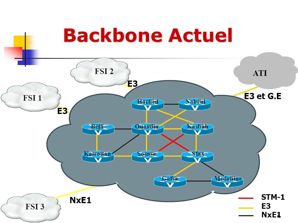 5 ATI Client FSI1 FSI 2 Internet FSI 1 Backbone IP international Backbone IP National Routage du trafic IP
