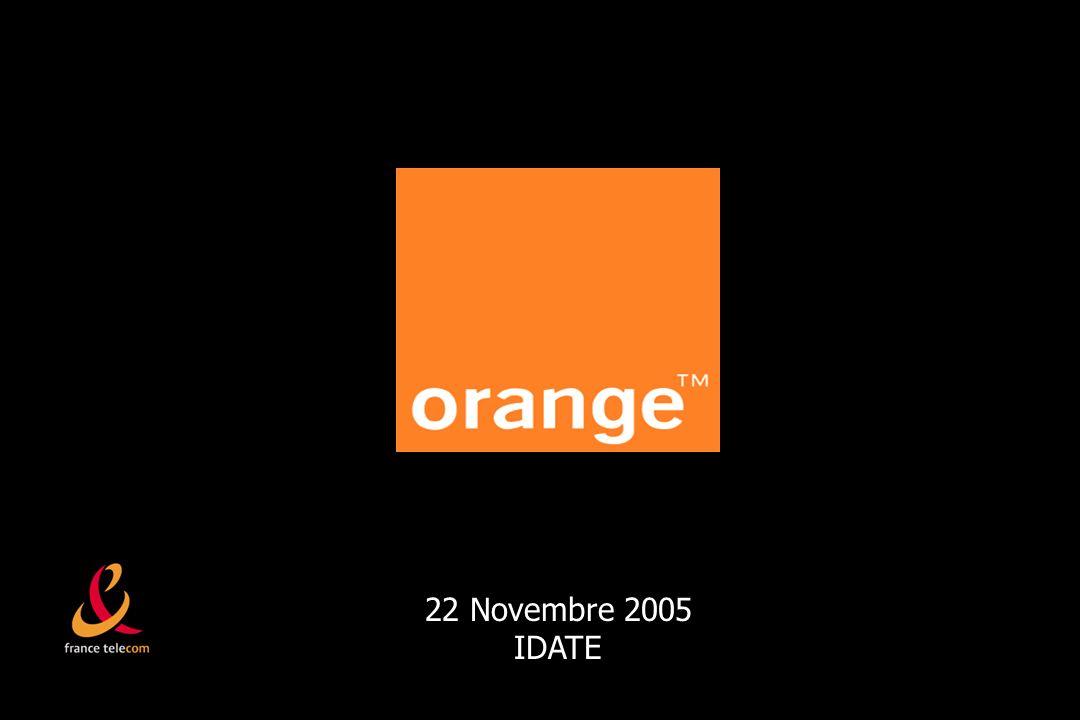 22 Novembre 2005 IDATE