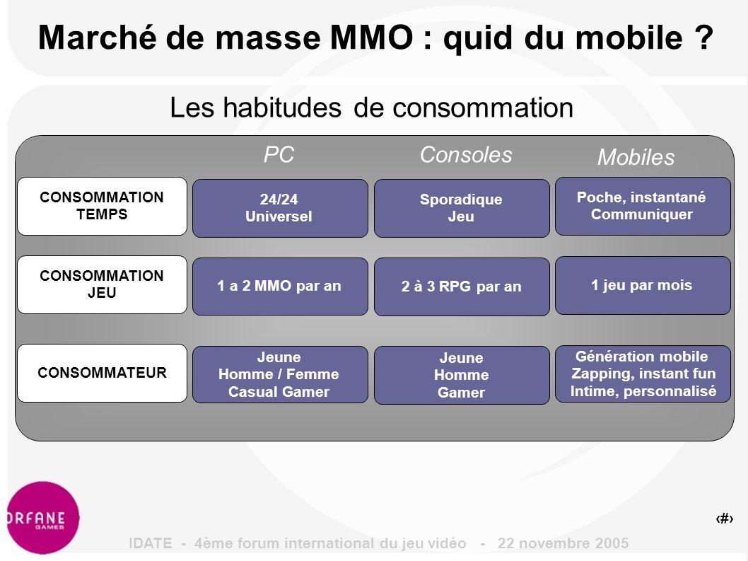 5 2 Mds de mobiles : mine d or pour le MMO .