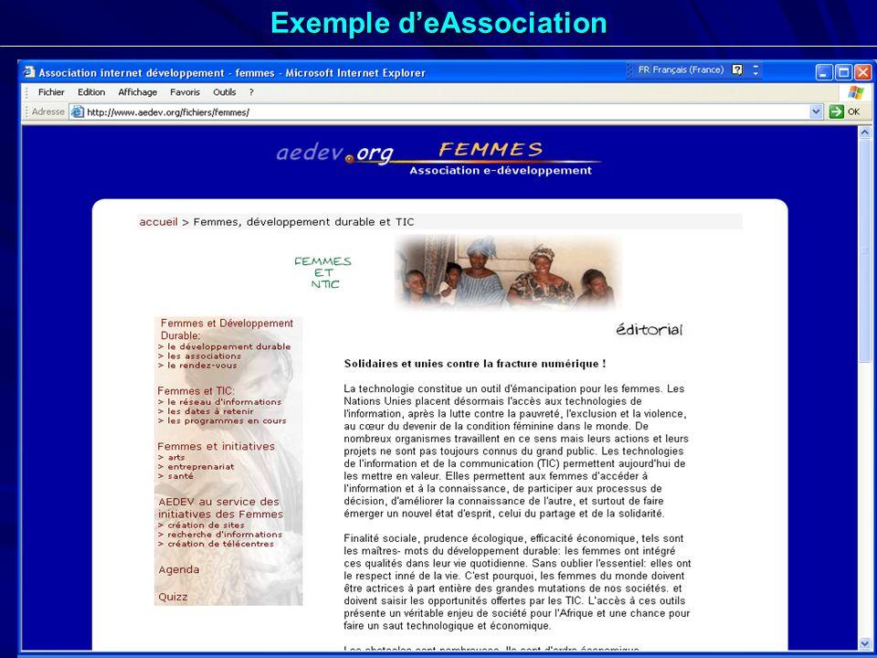 20 Exemple deAssociation