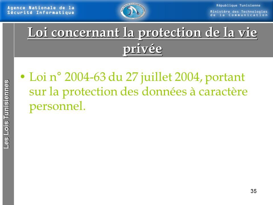 34 Les Lois Tunisiennes