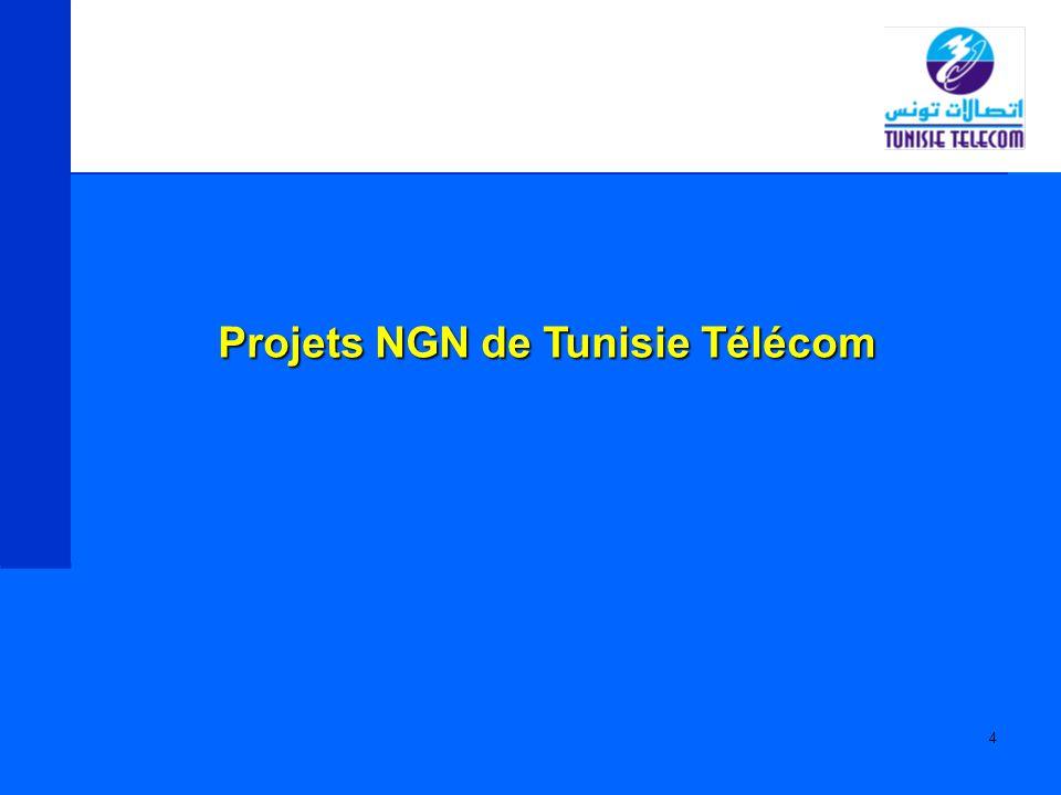 15 Portée du projet : Un Media Gateway Controller (HiE 9200) 7 Media Gateways (HiG 1200) Déploiement prévu: 1Q2005 Projet voix sur IP national (suite)