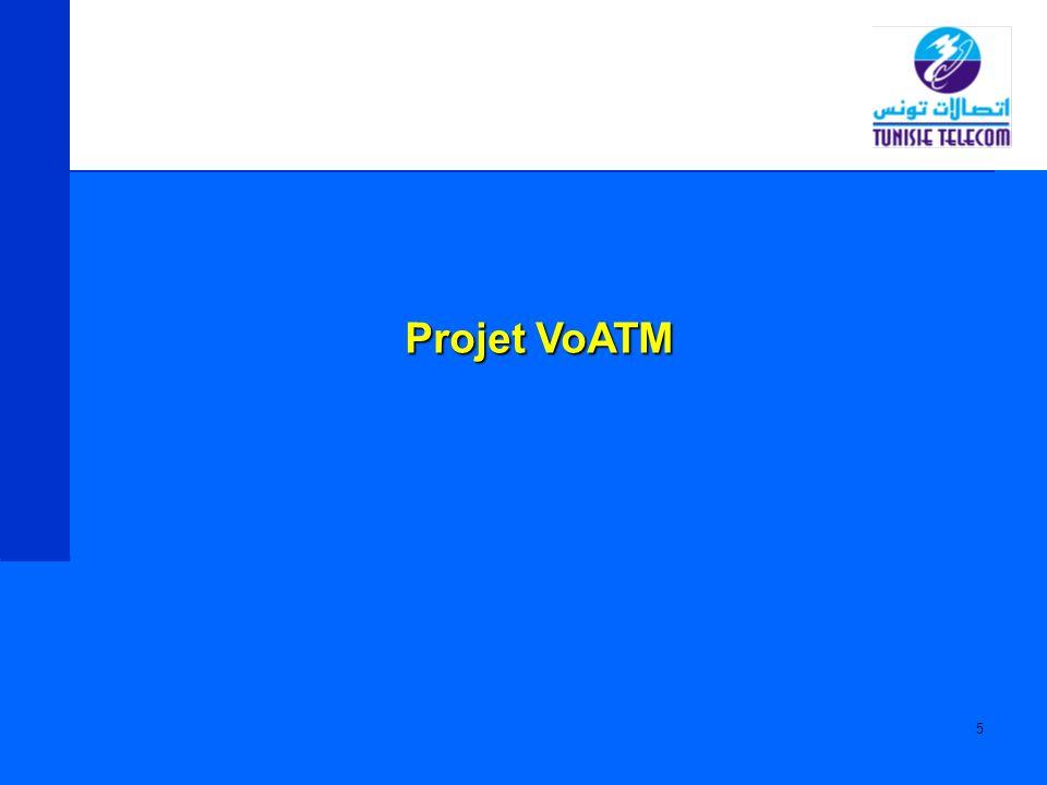 6 Le réseau Voix sur ATM a été introduit dans le réseau de Tunisie Télécom en 2002 pour : Réaliser l extention du réseau téléphonique Véhiculer le trafic Fixe-Fixe entre les différents noeuds de ce réseau en utilisant la technologie paquet VoATM Communiquer avec le réseau PSTN existant Voix sur ATM (ENGINE)