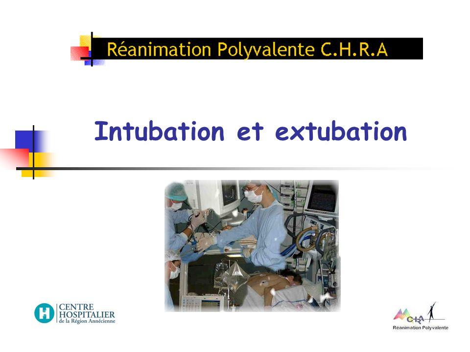 Indications : Patient présentant une détresse respiratoire, un état de choc, un coma...