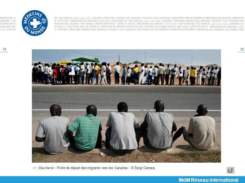 13 >> Mauritanie - Point de départ des migrants vers les Canaries - © Sergi Camara MdM Réseau international