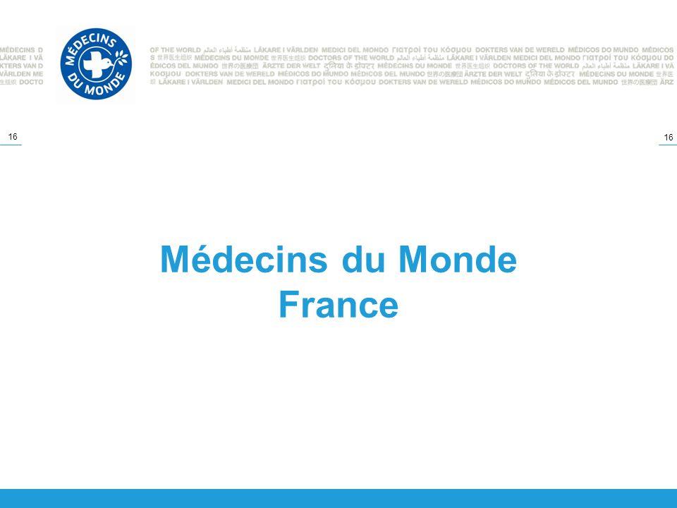 16 Médecins du Monde France