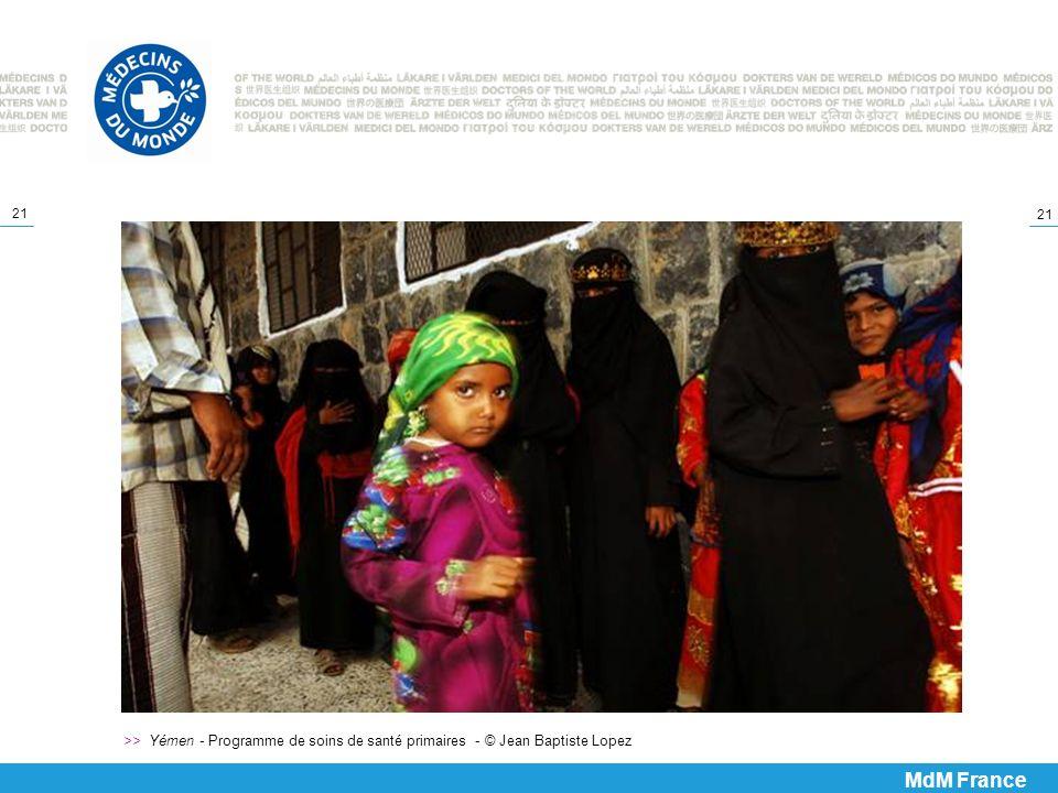 21 >> Yémen - Programme de soins de santé primaires - © Jean Baptiste Lopez MdM France