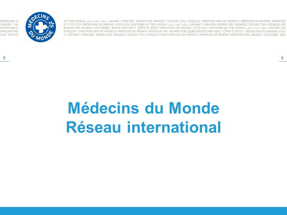 5 5 Médecins du Monde Réseau international