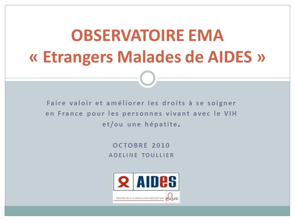 Faire valoir et améliorer les droits à se soigner en France pour les personnes vivant avec le VIH et/ou une hépatite.