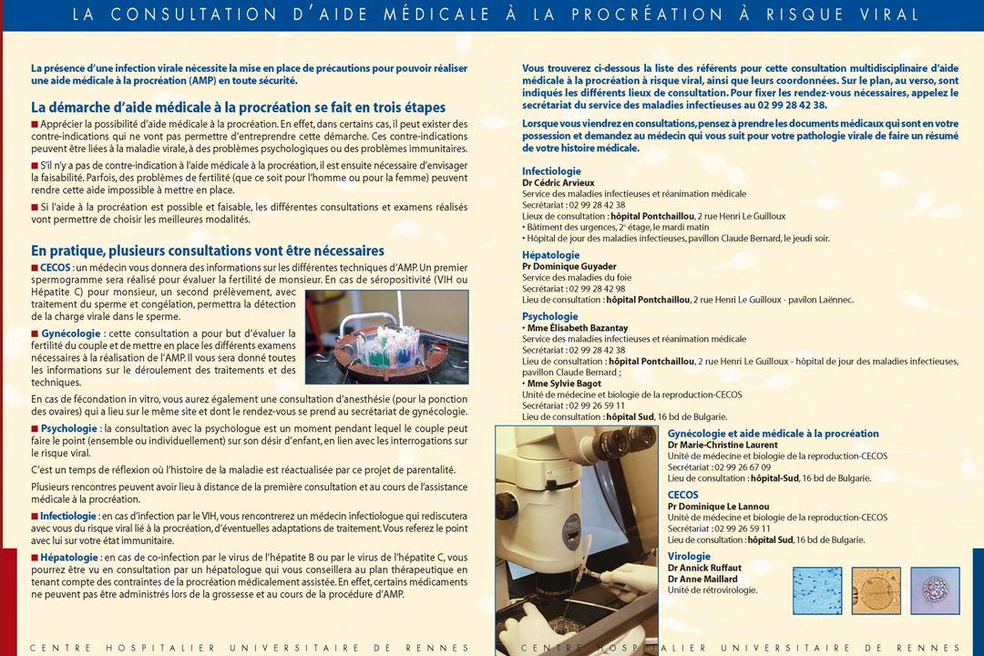 AMP à risque viral – COREVIH Auvergne Loire Dec. 2010 12