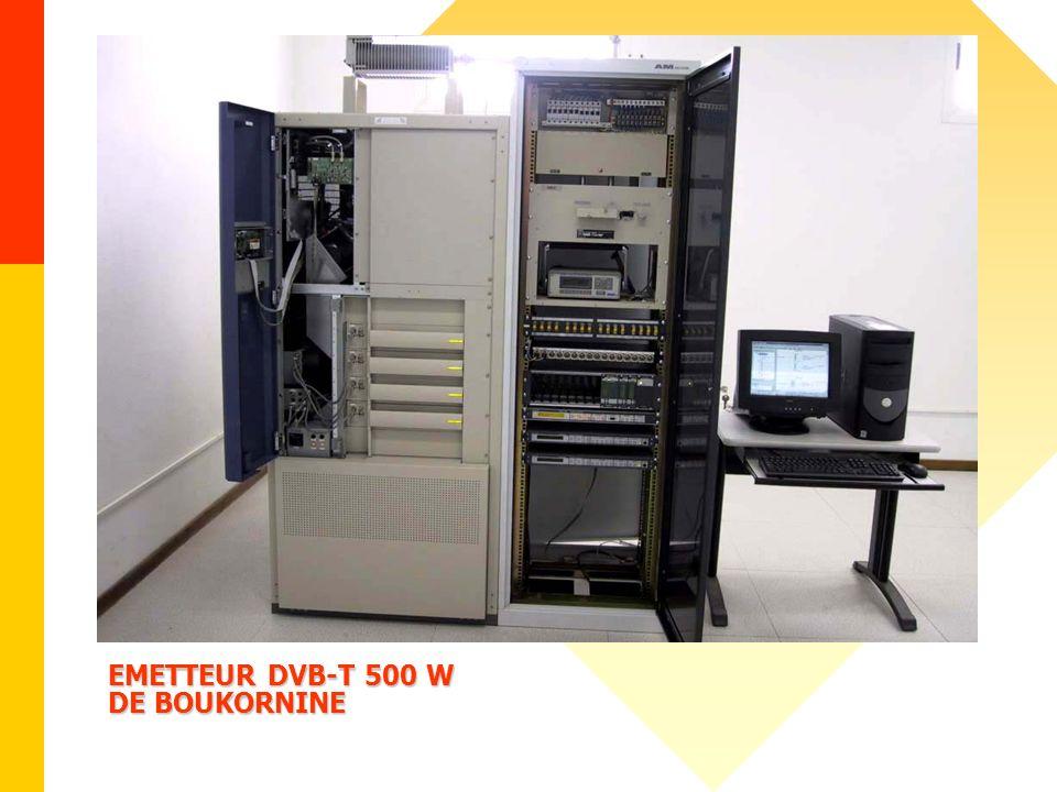 EMETTEUR DVB-T 500 W DE BOUKORNINE