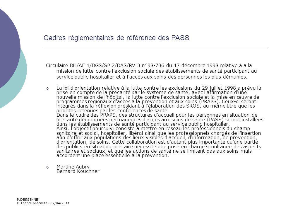 Circulaire DH/AF 1/DGS/SP 2/DAS/RV 3 n°98-736 du 17 décembre 1998 relative à a la mission de lutte contre lexclusion sociale des établissements de san