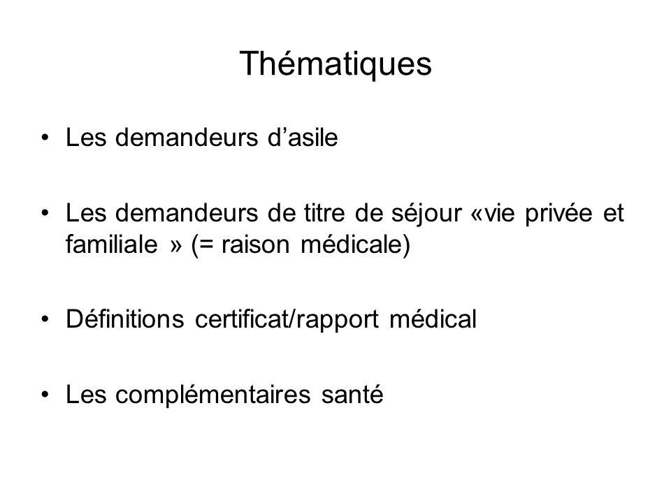 ASILE ET IMMIGRATION Les étrangers résident en France relèvent de deux types de législation: –Le droit à la protection au titre de lasile (protection en raisons de craintes de persécutions dans leur pays).