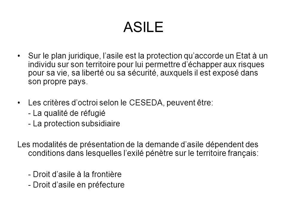 Dans la situation des demandeurs dasile comme celle des «étrangers malades», au-delà de 3 mois de présence irrégulière et justifiable sur le territoire français, ces personnes peuvent prétendre à lAide Médicale dEtat (AME).