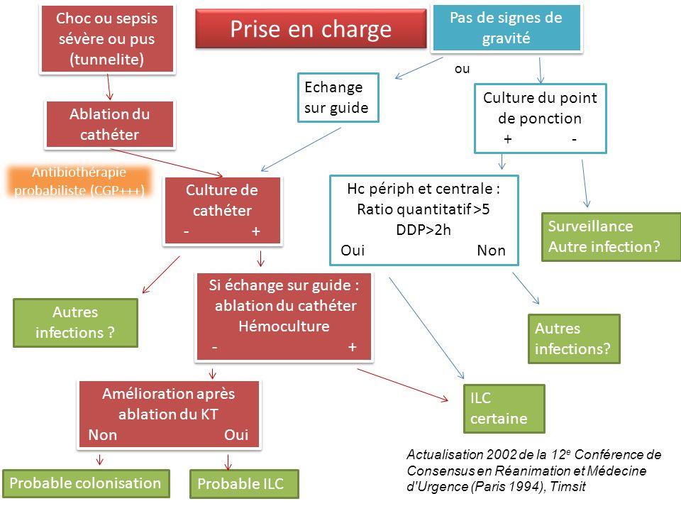 Autres infections? Actualisation 2002 de la 12 e Conférence de Consensus en Réanimation et Médecine d'Urgence (Paris 1994), Timsit Choc ou sepsis sévè