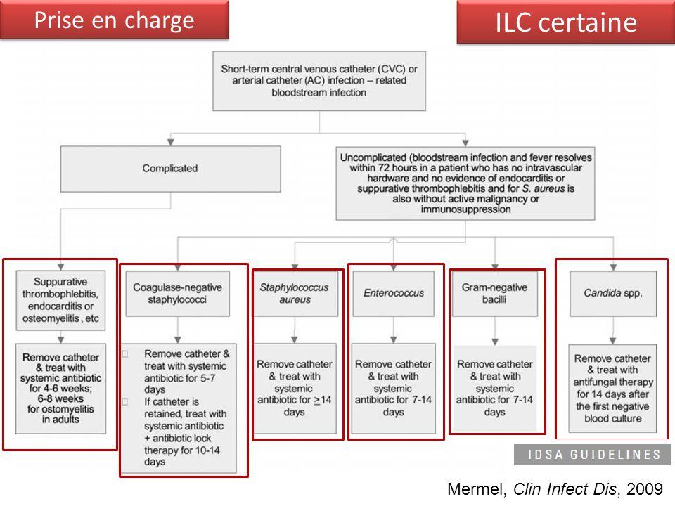 Mermel, Clin Infect Dis, 2009 ILC certaine Prise en charge