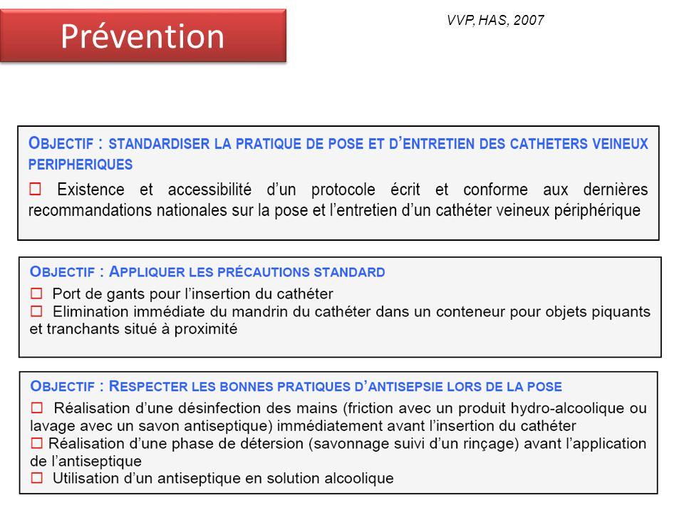 Prévention VVP, HAS, 2007