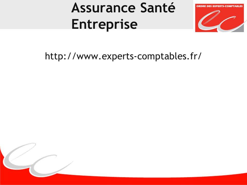 Assurance Santé Entreprise http://www.experts-comptables.fr/