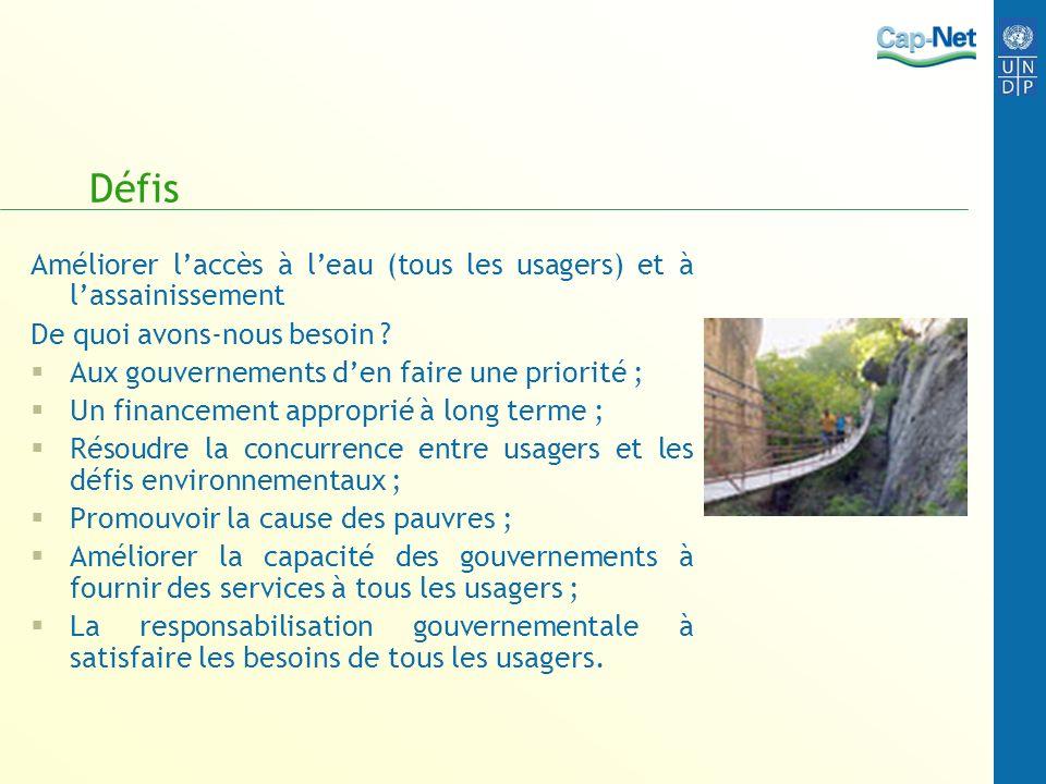 Fin La prochaine présentation traitera des principes de la gestion de leau
