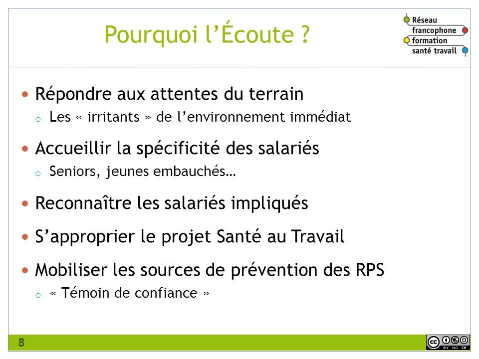 Vincent Baud, Ingénieur Conseil en Management de la Santé au Travail.
