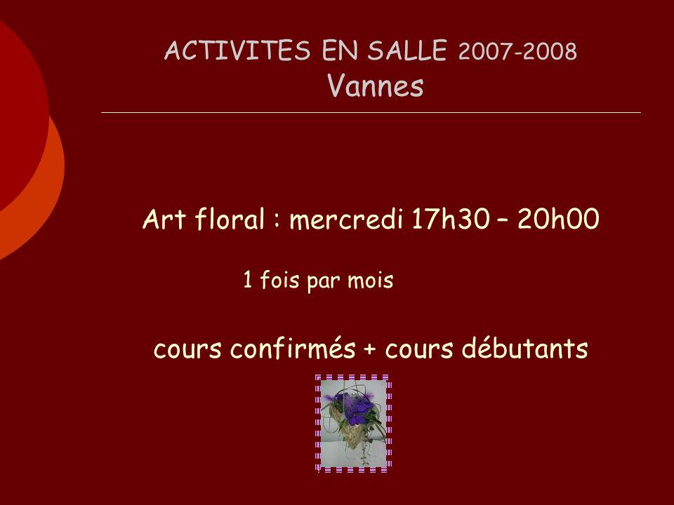 Art floral 2007-2008