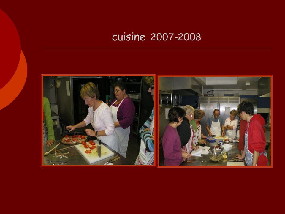 cuisine 2007-2008