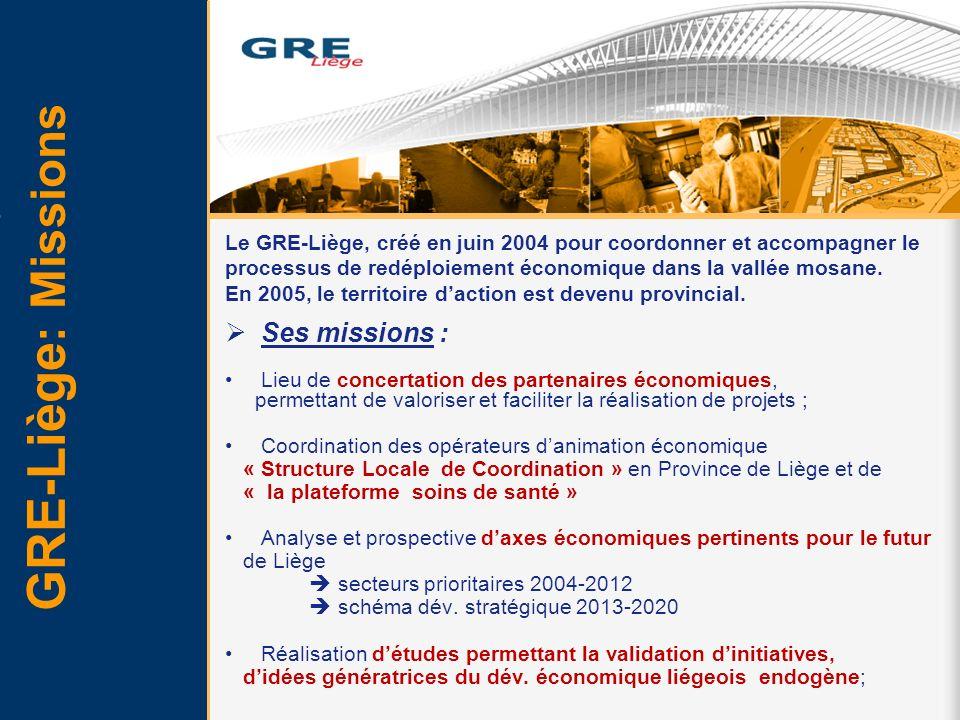 Ses missions : Lieu de concertation des partenaires économiques, permettant de valoriser et faciliter la réalisation de projets ; Coordination des opé