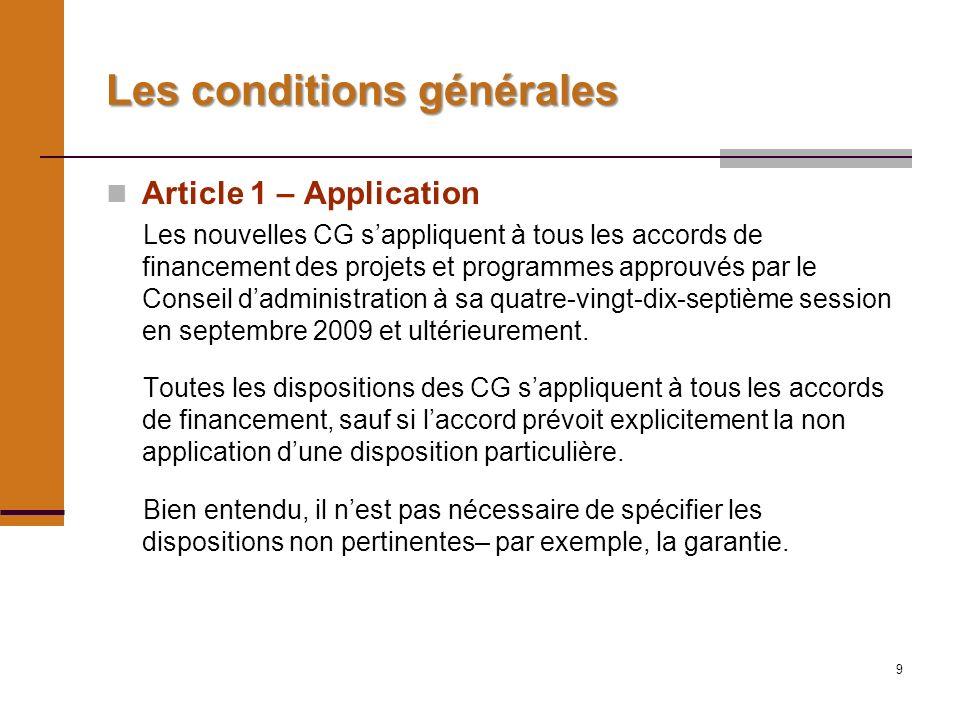 10 Article 2 - Définitions Nous allons examiner les définitions quand elles se présentent dans dautre contextes