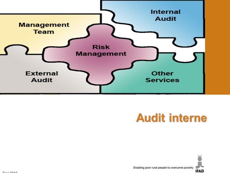 Audit interne Dec 2010