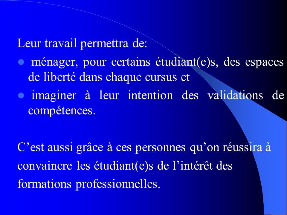Limportance de ces différents points souligne - la nécessité pour linstitution universitaire de confier à des personnes averties et déterminées laccom