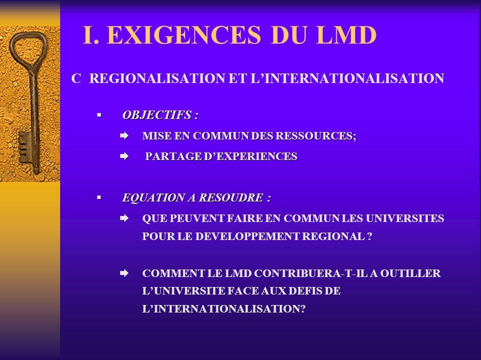 2- LE CHEMIN PARCOURU (suite et fin) 2.4- Autres activités A chaque séminaire thématique, la conférence des Recteurs et Présidents du REESAO (point sur lavancement du LMD, rencontre des autorités gouvernementales) Les 09 et 10 juin 2006: un séminaire à Ouagadougou pour les responsables LMD et TIC Le 09 juillet 2006: le point REESAO à la réunion des Ministres du CAMES à Libreville