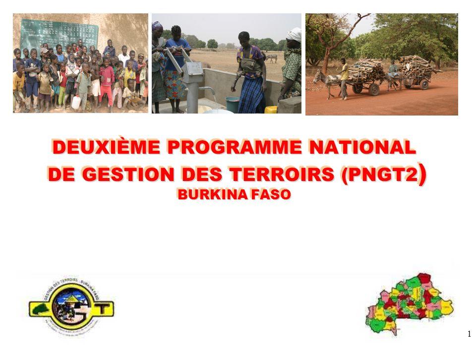 1 DEUXIÈME PROGRAMME NATIONAL DE GESTION DES TERROIRS (PNGT2 ) BURKINA FASO
