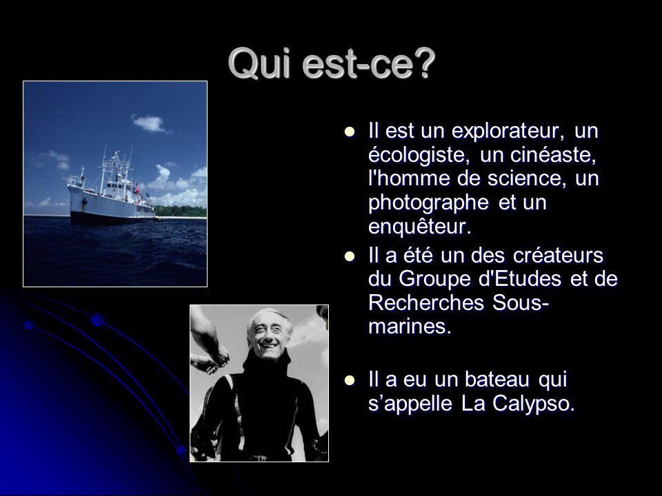 La vie Le 1 décembre 1990 Simone Cousteau est mort d un cancer.