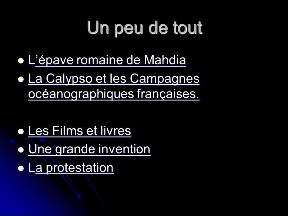 La Calypso et les Campagnes océanographiques françaises En 1949, Cousteau quitte l armée pour fonder lá.