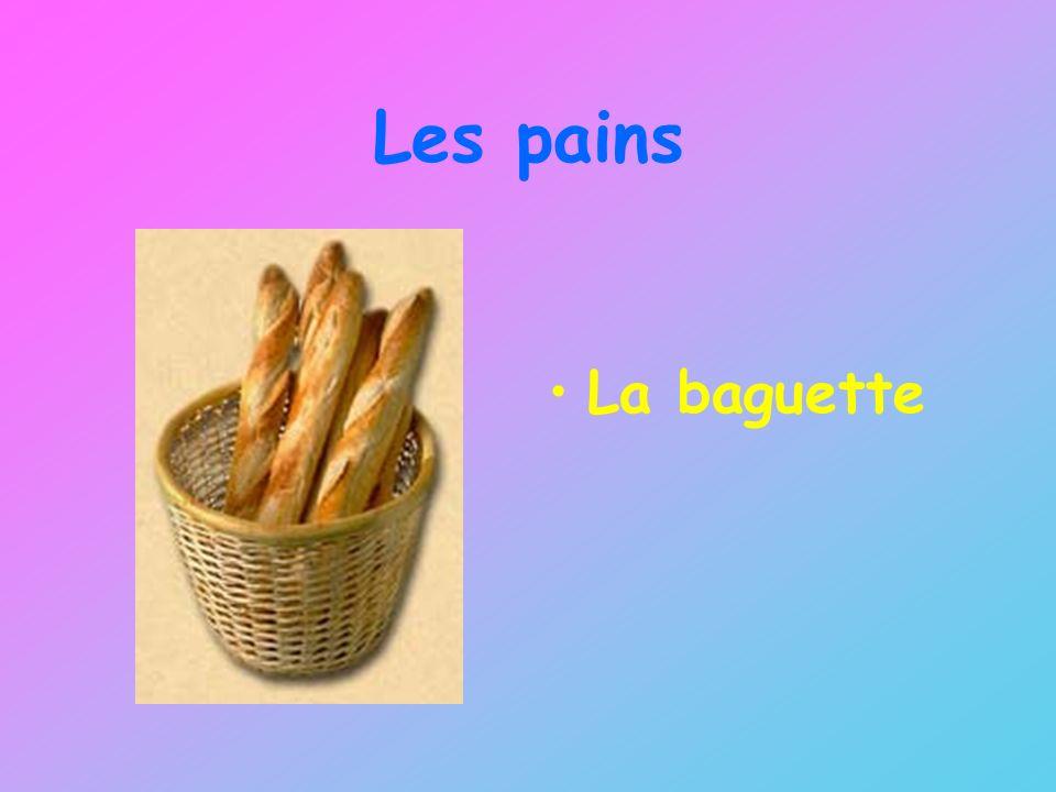 Les pains La baguette