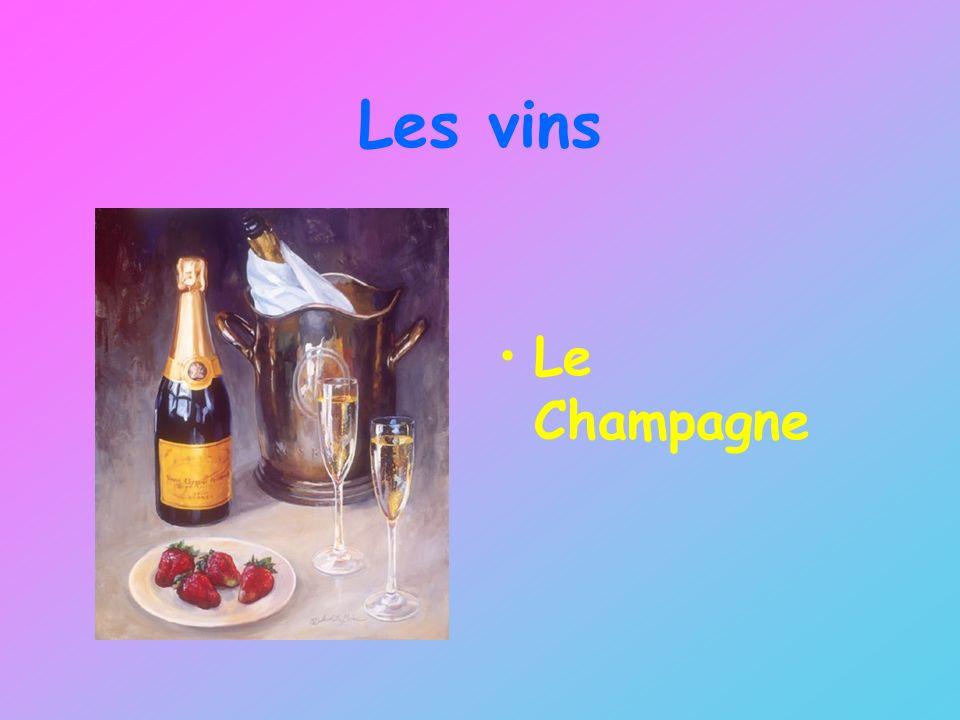 Les vins Le Champagne