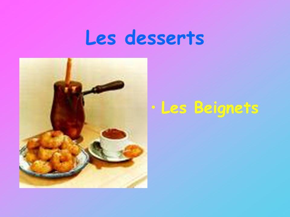 Les desserts Les Beignets