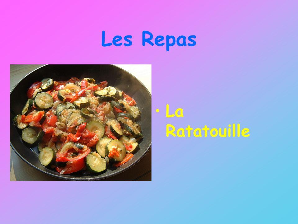 Les Repas La Ratatouille