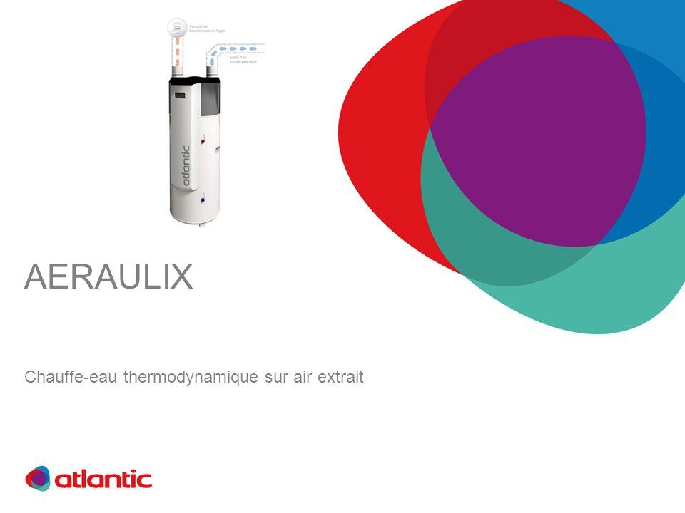 AERAULIX Chauffe-eau thermodynamique sur air extrait