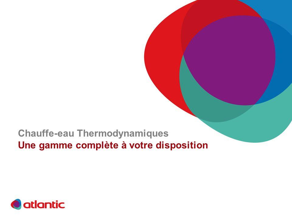 Chauffe-eau Thermodynamiques Une gamme complète à votre disposition