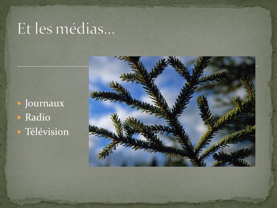 Journaux Radio Télévision