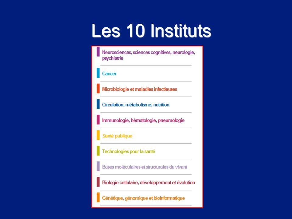 Les 10 Instituts