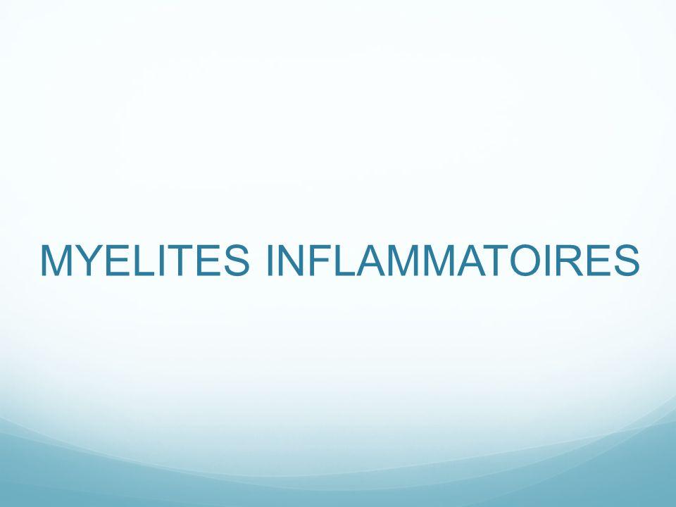 MYELITES INFLAMMATOIRES