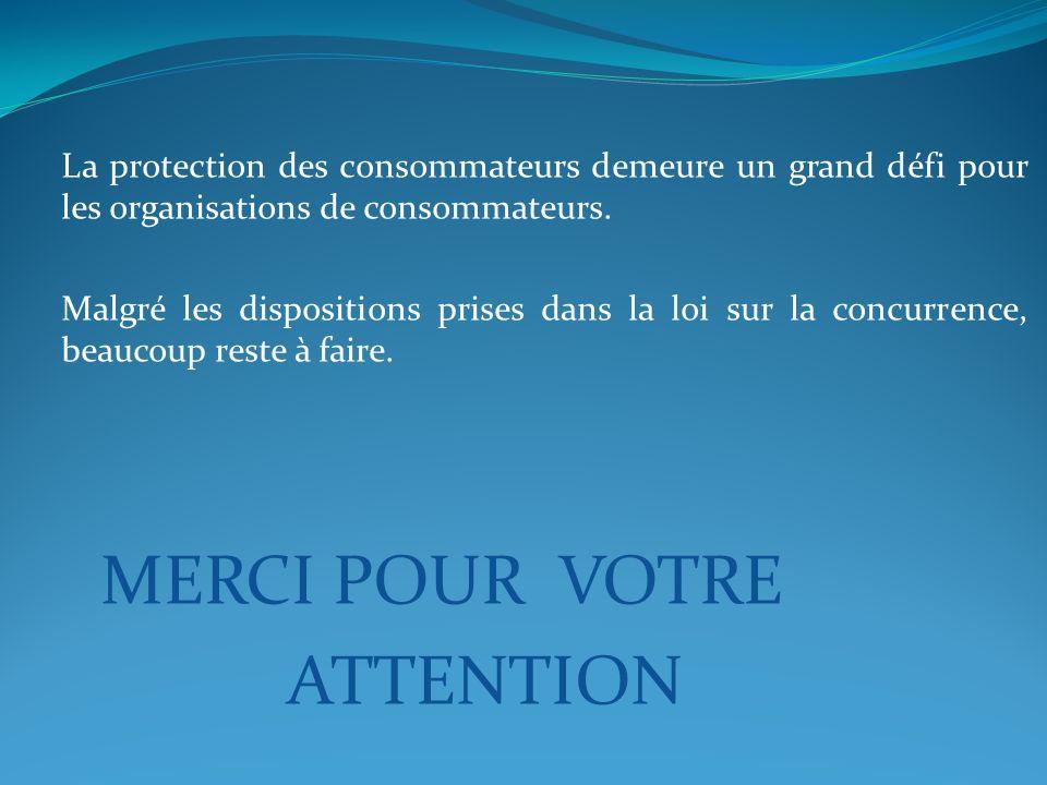 La protection des consommateurs demeure un grand défi pour les organisations de consommateurs.