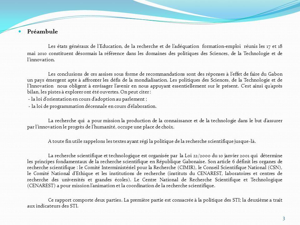 Sources extérieures Dautres financements proviennent de : - Lagence universitaire de la francophonie (AUF) ; - La société financière internationale ; - Le fond européen de développement (FED) ; - Le centre pour le développement et lindustrie (CDI) ; - La banque européenne dinvestissement (BEI) ; - La banque africaine de développement (BAD) ; - Lunion européenne (UE) ; - Lacadémie des sciences du monde en développement (IWAS) ; - Linternational Science fondation (IFS) ; - Lagence Suédoise de coopération ; - Lorganisation mondiale de la santé (OMS) ; - LUNESCO ; - LUNICEF.