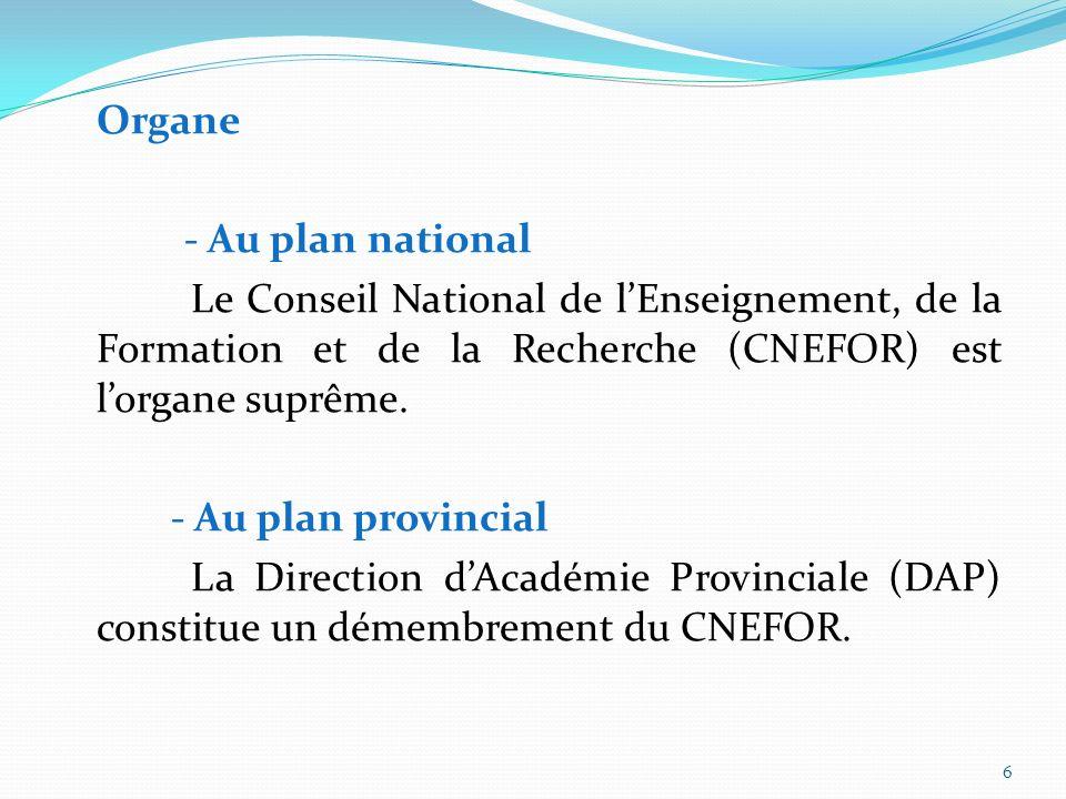 5 a- Structures Scientifiques du Gabon Organe Missions Organes dexécution