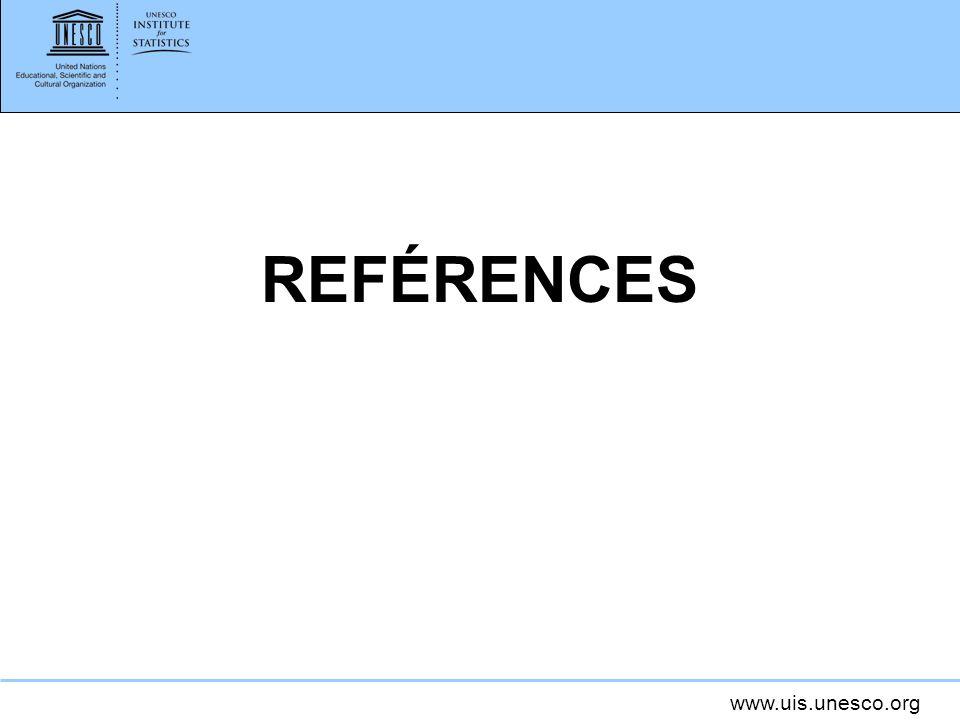 www.uis.unesco.org REFÉRENCES