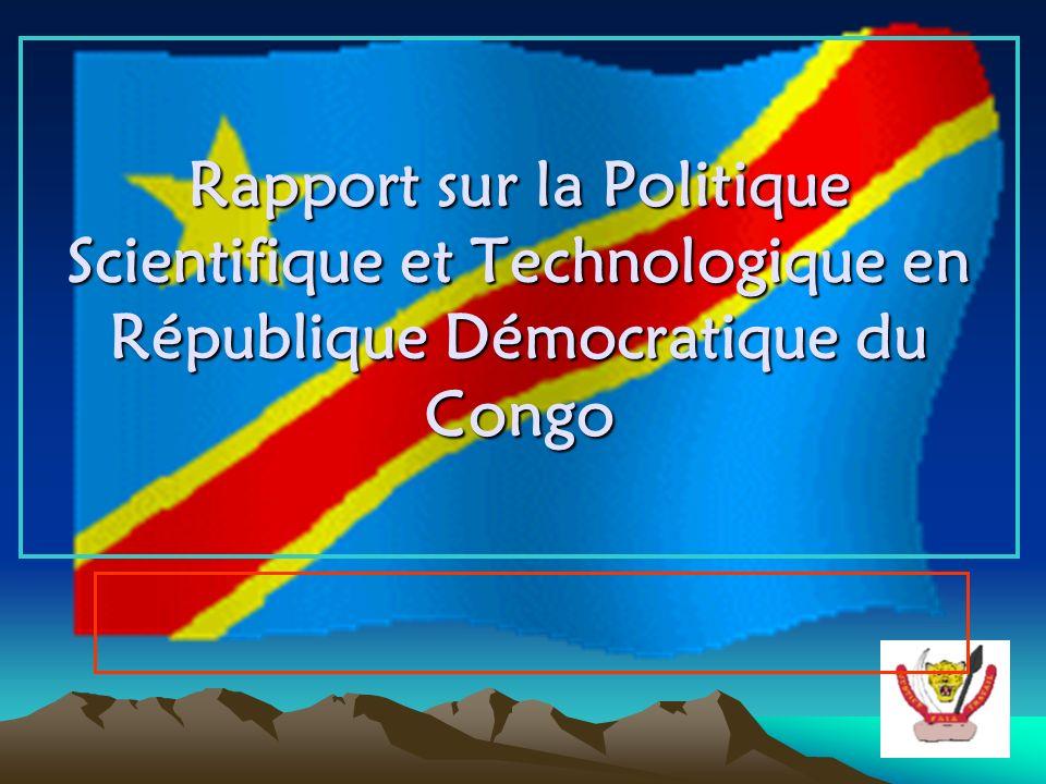 Rapport sur la Politique Scientifique et Technologique en République Démocratique du Congo
