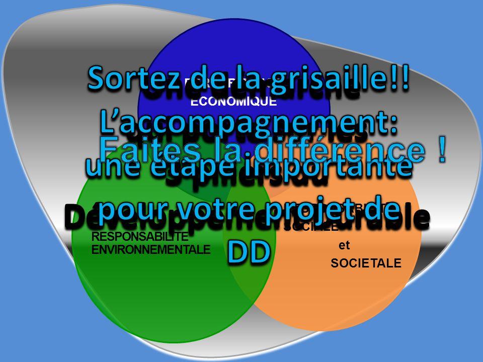 PERFORMANCE ECONOMIQUE RESPONSABILITE SOCIALE et SOCIETALE RESPONSABILITE ENVIRONNEMENTALE